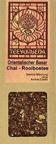 Teeyurveda Orientalischer Basar Chai ayurvedische Rooibosteemischung, 5er Pack (5 x 85 g)