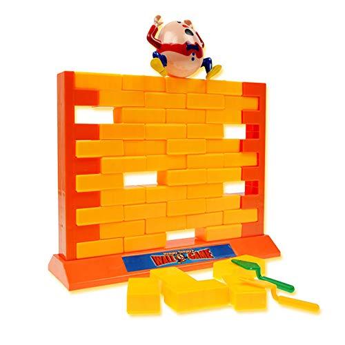 Divertido interactivo Pequeño truco o trato padre-niño escritorio de la pared de escritorio impulsión tablero juego juego niños división de pared juego juguete doble pared edificio jenga La mejor opci