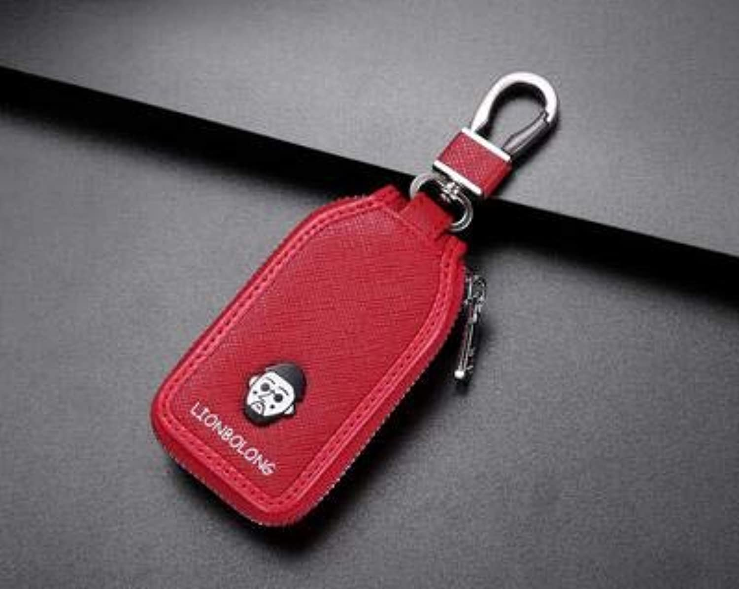 New Skylight Car Key Ring Red color Key case for Ford Acura Infiniti Nissan Audi BMW Buick Cadillac Lexus Chevrolet Citroen Key