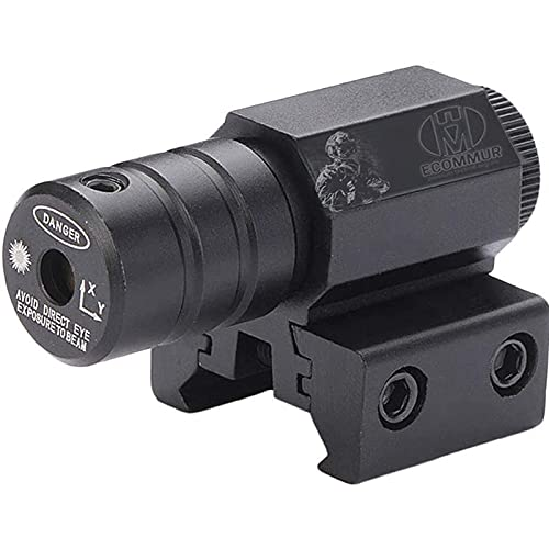 Visor / Puntero Rojo con Picatinny para Pistolas de Aire comprimido y balines o de Airsoft (Uso Deportivo)