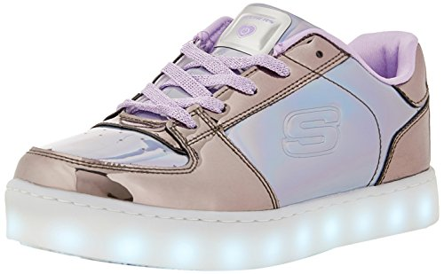 Skechers Energy Lights-Shiny Sneaks, Zapatillas para Niñas