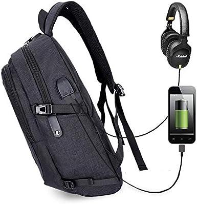 Men/&women Backpack Male USB Charging Travel School Backpack Laptop Backpack