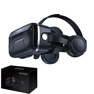 AFGH visore VR Versione aggiornata dell'auricolare degli Occhiali per Realtà virtuale Scatola di Gioco per Casco per Occhiali 3D per Occhiali VR