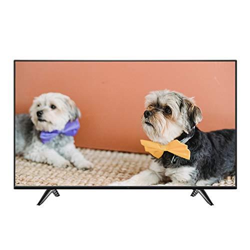 GXFCH SHOP TV de Pantalla Plana TV LCD LCD TV de 40 Pulgadas HD, diseño Simple y Elegante, Bordes Estrechos Negros Brillantes