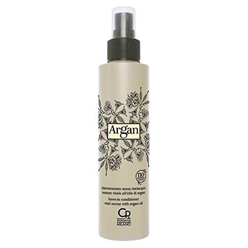 Argan - Nettare Vitale all'Olio di Argan - Maschera Spray Ristrutturante e Idratante per Capelli - Trattamento Ricostruzione Professionale Senza Risciacquo - 150 ml