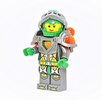 LEGO Nexo Knights Aaron with Silver Visor Clip on Back Minifigure