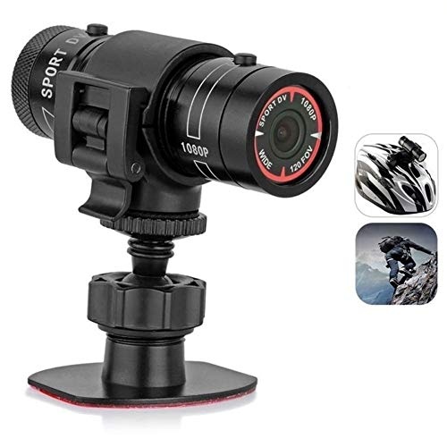 Mini F9 HD 1080P casco de moto cámara deportiva 120 FOV Video Grabador DV Videocámara