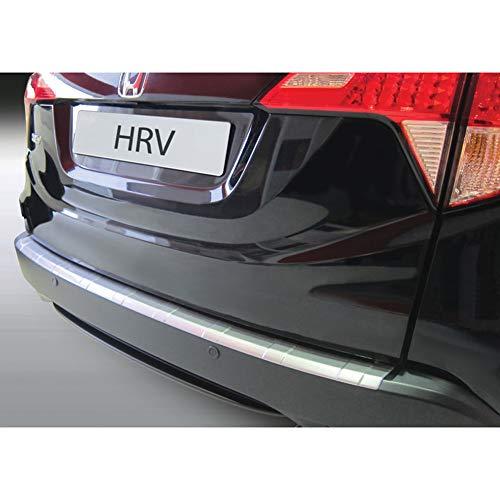 Protection de seuil arrière (ABS) compatible avec Honda HR-V 9/2015- Noir