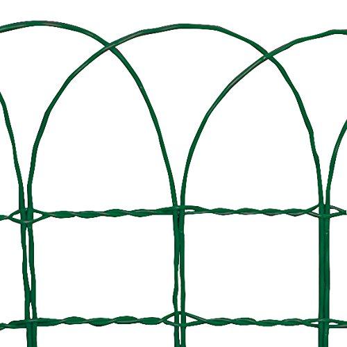 Tenax 74110200 Ondamet Bordura Per Giardini A Forma Di Archi