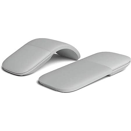 Bonbela Ratón Bluetooth Plegable sin Hilos Plegable de Bluetooth ergonómico ARC Touch ratón de la computadora ratón de la PC silencioso