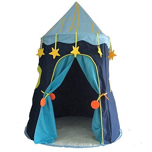 Kinderspeelgoed Teepee kinderen, Mongoolse tent grote ruimte Kinderen Castle Play Tent Game House Mongoolse yurts Tipi tent Indoor Outdoor Garden Beach Toys, groen