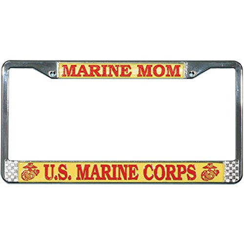 Honor Country Marine MOM License Plate Frame