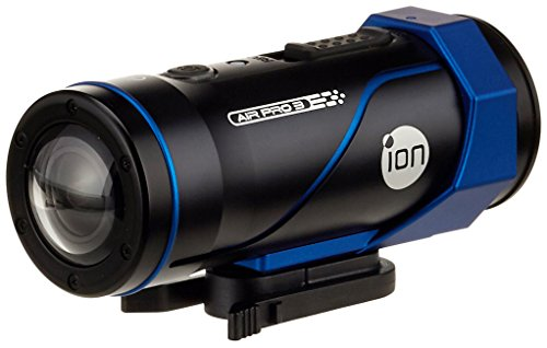 ION Air PRO 3 Wi-Fi Videocamera FHD 60fps, Unisex-Adulto, Nero/Blu