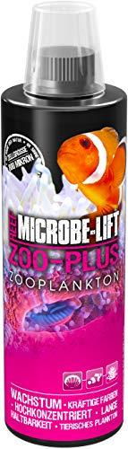 MICROBE-LIFT Zoo-Plus - Futterplankton (Tierisches Qualitäts-Plankton für Korallen & Fische in jedem Meerwasser Aquarium, steigert das Wachstum und die natürliche Farbgebung) 473 ml