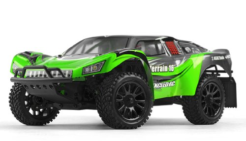 Exceed Racing Desert Short Course Truck 1/16 Scale Ready to Run 2.4ghz (AA Green)
