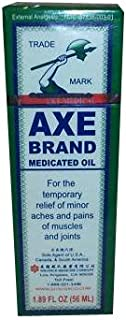 AXE BRAND MEDICATED OIL FOR PAIN RELIEF 1.89 OZ. OR 56 ML