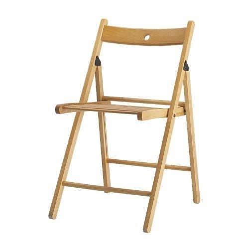 IKEA TERJE–Folding chair, beech