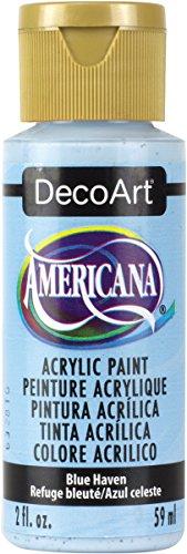 Americana Acrylic Paint 2oz-Blue Haven - Opaque