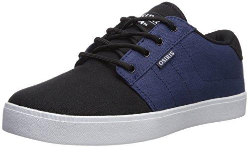 Osiris Men's Mesa Skate Shoe, Navy/Black/White, 7 M US