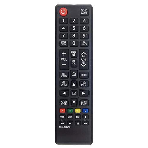 Reemplazo Mando a Distancia Pare Samsung BN59-01247A - Ajuste para Samsung TV - No se Requiere configuración Mando Universal TV Samsung BN59-01175N AA59-00603A AA59-00741A AA59-00786A AA59-00602A