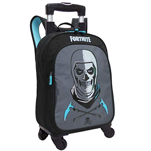FORTNITE Mochila Adaptable con Trolley, Unisex niños, Multicolor, 31X42X15
