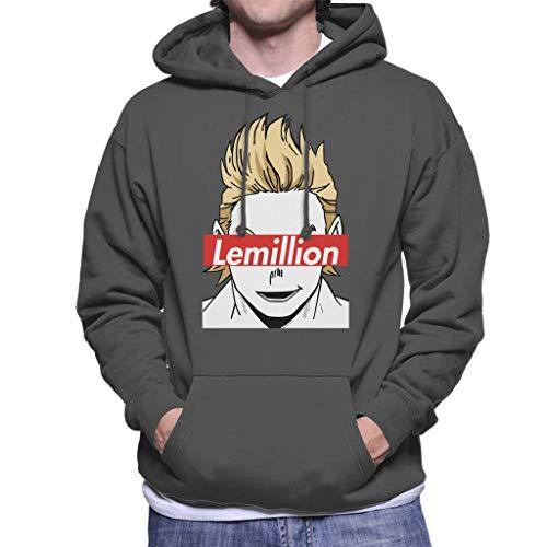 Cloud City 7 Lemillion Skate Brand My Hero Academia Men's Hooded Sweatshirt