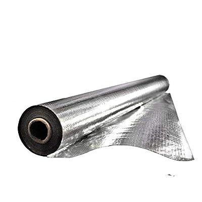 Earth Tack Radiant Barrier Insulation for Roof, Attic, Garage Goors, Windows, Aluminum Foil Roll