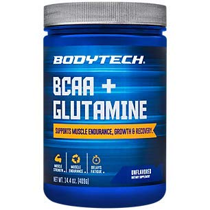 BCAA Glutamine Supports Muscle Endurance, Growth Recovery with...
