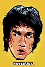 Notebook: Bruce Lee Head , Journal for Writing, College Ruled Size 6
