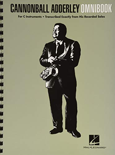 Cannonball Adderley: Omnibook - For C Instruments (Jazz Transcriptions)
