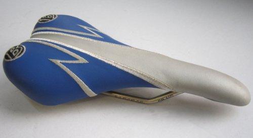 Bontrager Rennradsattel Fahrradsattel Sattel blau/ silber