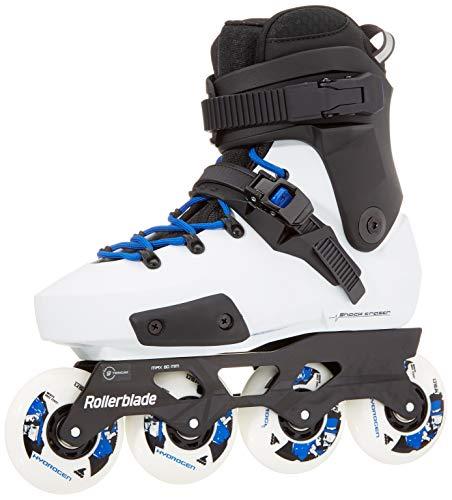 Rollerblade Twister Edge X Schlittschuhe weiß Erwachsene Unisex White/Royal Blue, 295