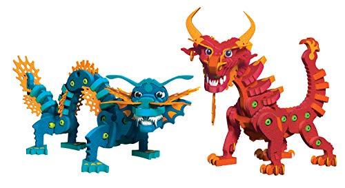 Aqua et Pyro Dragons Bloco