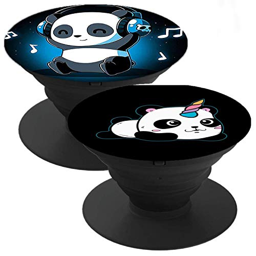 2 Pack Phone Holder Suitable for almost Smartphones and Tablets Panda