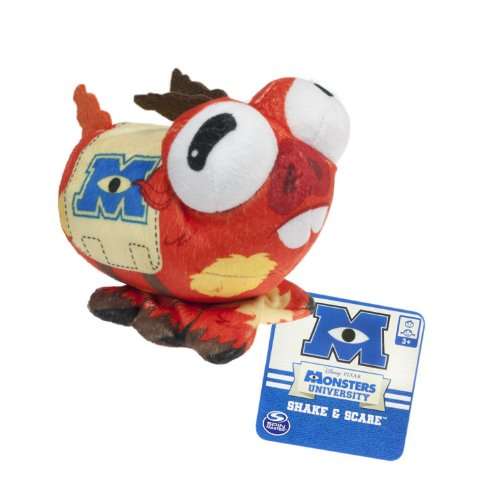 Monsters University – Shake & Scare – Archie – Peluche Sonores 13cm – Parle Anglais (Import UK)