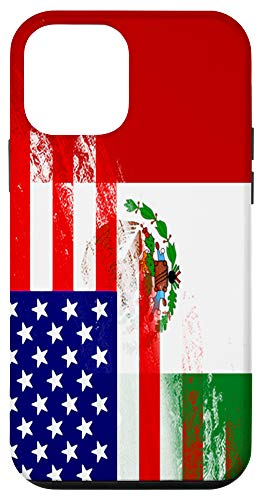 iPhone 12 mini USA Mexico Flag Mexican Pride Heritage Gift Immigrant Case