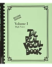The real vocal book - volume i: High Voice: 1