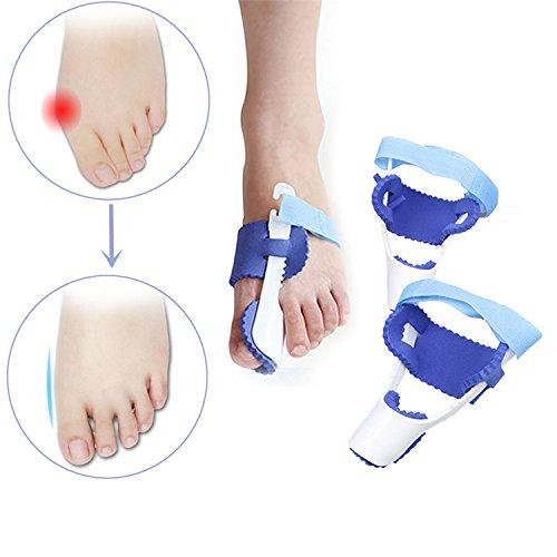 Inovey Correcteur De Soins De Menthe À 1 Paire Hallux Valgus Straightener Orthèses Orthopédiques Bracelet Big Toe Bone Tool
