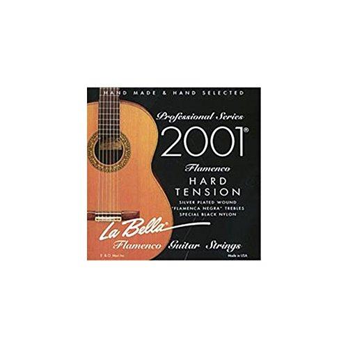 La Bella 653838 Corde per Chitarra Classica Professional Studio, 2001 Flamenco, Hard