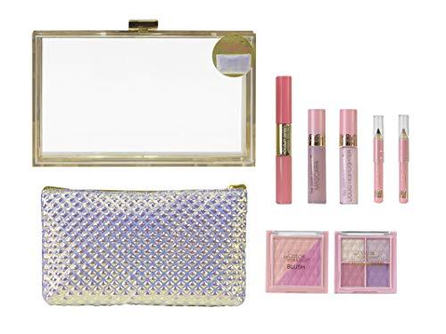 Beauty Clutch Sweetheart - The Color Workshop - Estuche de Maquillaje Transparente...