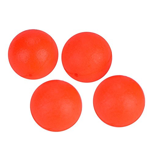 Fishing Lure Float Balls,100Pcs EPS Foam Buoyancy Ball Fishing Float Bobbers Drift Ball Strike Indicator Fishing Tackle Foam Indicator