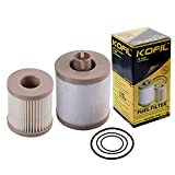 FD-4616 Fuel Filter Compatible with Ford 6.0L Powerstroke F250 F350 F450 F550 Super Duty 03-07 Excursion 03-05 FD4616 4 Micron Diesel Filter Replaces 3C3Z9N184CB Upper Fuel Bowl Lower Lifter Pump