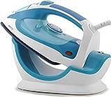 Camry CR 5026 Plancha De Vapor con Suela Cerámica, autolimpiable, Filtro Anti Cal, 2200W, 20 W, azul y blanco