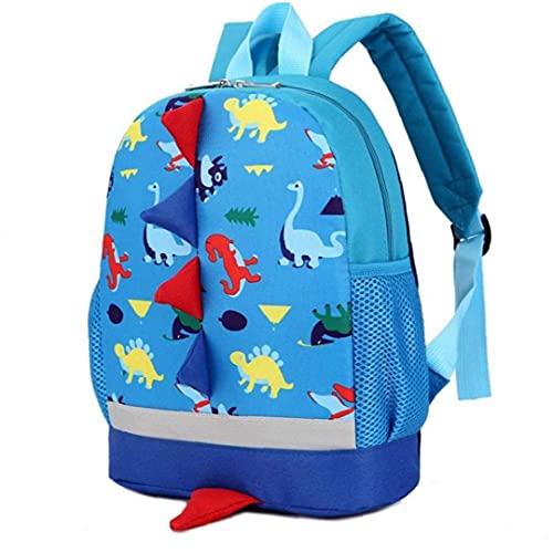 lujiaoshout Leuke schoolrugzak voor kinderen, cartoon-dinosaurus, peuters, kind-schoolboek, tassen, kinderen, kleine…