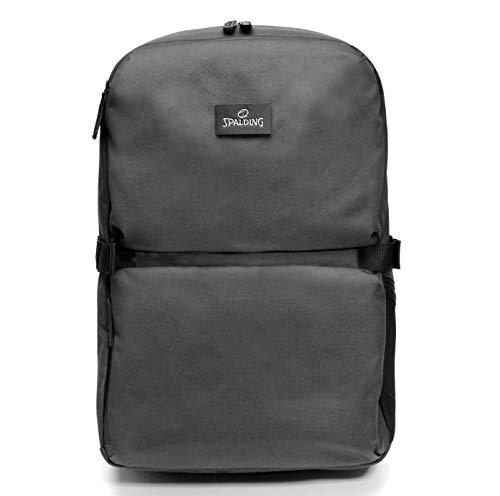 Zaino Backpack SPALDING & BROS A.G. Big Brooklyn Line Porta Pc fino a 15/6' Tasca Porta Tablet Unisex 32X46X17 cm 185623U-Grigio