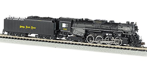 Bachmann Industries Nickel Plate #759 N Scale 2-8-4 Berkshire Steam Locomotive & Tender