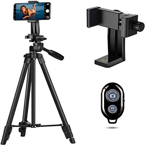 Handy Stativ Smartphone Kamera Stative Lightweight Tripod Ständer für iPhone/Huawei Halter Halterung Leichtes Kamera-Dreibeinstativ