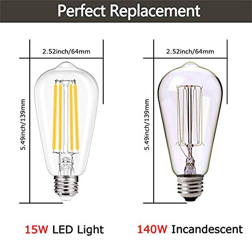 LOHAS-LED LH-E27-15W-2700K-3