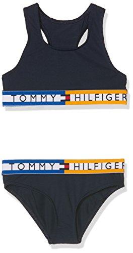 Tommy Hilfiger Bralette Bikini Set Conjunto de baño para Niñas