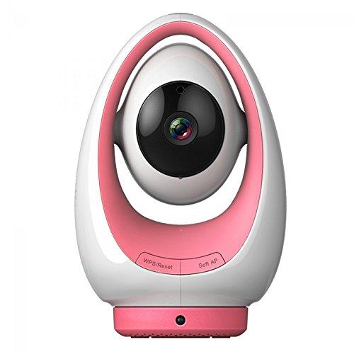 Foscam Fosbaby P1 - Vigilabebés para interior, función P2P, 720p, WiFi, color rosa